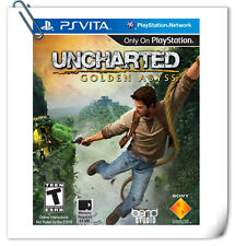 PSV UNCHARTED GOLDEN ABYSS 神秘海域 黄金深渊 中文 英文 SONY VITA SCE Action