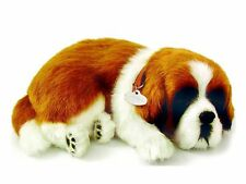 Saint Bernard Life Like Stuffed Animal Breathing Dog Perfect Petzzz