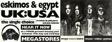 22/5/93PGN52 ESKIMOS & EGYPT - UK:USA ADVERT 4X11""
