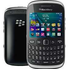 NIB Blackberry Curve 9320 Factory Unlocked GSM 3G WIFI GPS FM RADIO QWERTY BLACK
