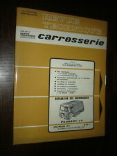 REVUE TECHNIQUE CARROSSERIE N°42 C - Avril-Mai-Juin 1973 - Peugeot J7...