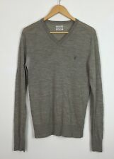 MENS ALL SAINTS SPITALFIELDS WOOL JUMPER CARDIGAN UK S