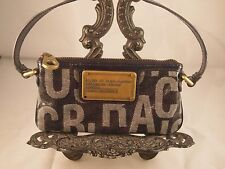MARK BY MARC JACOBS SMALL HANDBAG DARK BLUE EUC