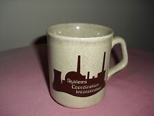 Nuclear Industry Coffee /Tea Mug Crystal River SYSTEMS COORDINATION INCORPORATED