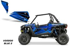 AMR Racing Graphic Wrap Kit Polaris RZR 1000 UTV OEM Door Inserts 2014 VOODOO