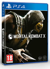 Mortal Kombat X PS4 Game 2015 NEW English, Portuguese, Spanish, French, German