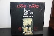 IL ETAIT UNE FOIS EN AMERIQUE WS VF + VO - BOX SET PAL LASERDISC Robert De Niro