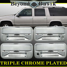 1992-1999 CHEVY/GMC SUBURBAN C/K 2500,3500 Chrome Door Handle Cover With Psgr 4
