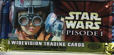 STAR WARS - Episode 1 Collector's Edition Widevision Card Packs (14) #NEW
