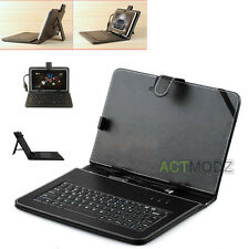 "For 10.1"" Acer Iconia A500 or Tab A200 A700 Tablet Leather Case USB Keyboard New"