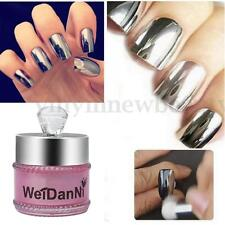 5g Silver Magic Mirror Pigment Metallic Chrome Effect Nail Glitters Dust Powder