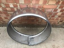 Mercedes W163 M Class ML Spare Wheel Cover Stainless Steel 1998-2005