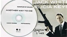 Jack White & Alicia Keys ‎– Another Way To Die, CD, Single, Promo, 2008