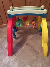Vintage 1998 Sesame Street Baby Grow and Go Activity Play Gym GUC