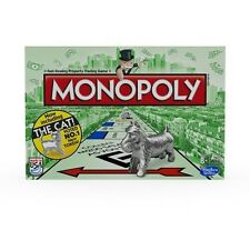 Original Monopoly Board Game Including The Cat NEW