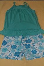 TEAL SHORTS SET BY GAP KIDS, LILLY PULITZER - 10/12