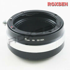 Nikon F AF-S AI G lens to Sony E mount adapter NEX-5 3 7 6 5R F3 A7 A7R as Kipon
