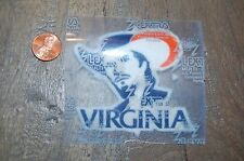 "Virginia Cavaliers 2 3/4"" Lextra Patch 1978-1993 Primary Logo College"