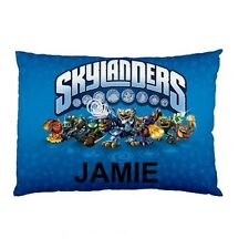 SKYLANDERS Personalized childrens kids bed pillow case