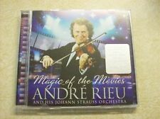 Andre Rieu - Music at the Movies New/Sealed CD & Bonus DVD