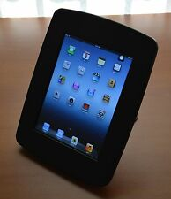 Desktop / Wall  Mount iPad Kiosk Stand for iPad 2/3/4 (Black)