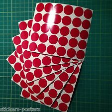 Round Colour Code dot Stickers Coloured Circles Sticky Adhesive spot Labels