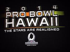 VINTAGE 2014 NFL PRO BOWL HONOLULU HAWAII T SHIRT MEDIUM