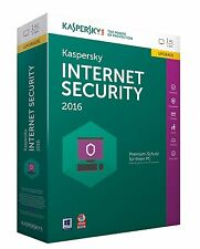 Kaspersky Internet Security 2016 - 1 PC / 1 Year