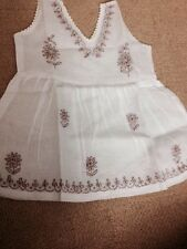Cotton Embroidered Baby Frock