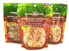 Hojas de Naranjo  Orange leaves Herbal Infusion Tea 3 PACK (75G) Nuestra Salud