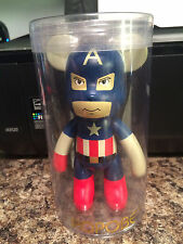 "Popobe Marvel CAPTAIN AMERICA Bear in package 6"" Avengers"