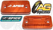 Apico Orange Front Clutch Master Cylinder Cover For KTM SX 65 03-13 Motocross MX