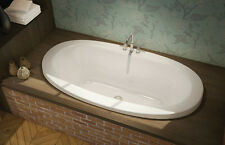 "MAAX SERENADE 66"" x 36"" ACRYLIC DROP IN BATHTUB OPTIONAL SPA, AIR SYSTEM"