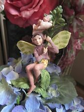Cicely Mary Barker FOXGLOVE Flower Fairy Ornament Figurine RETIRED! BNIB
