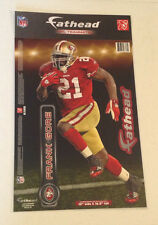 """Frank Gore FATHEAD Teammate 17"""" Player Graphic +Name Sign 49ERS Teammates"""