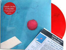 DUTCH UNCLES LP O Shudder RED Vinyl 500 Made + Promo Info Sheet + MP3 s SEALED