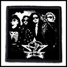 SISTERS OF MERCY --- Patch /Bauhaus The Cure Siouxsie The Cult Joy Division
