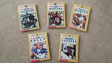 Schoolastic 5 Mini Books Sports Shots NFL Players