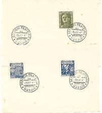 España. Dos folios con los sellos 979-982-1000