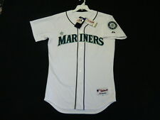 Authentic Majestic SZ, 44 LARGE SEATTLE MARINERS, ICHIRO SUZUKI, On Field Jersey