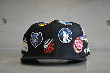 Mitchell & Ness NBA Western Division All Over Black Snapback Cap