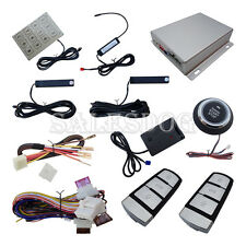 Smart Key PKE Car Alarm System  Car Remote Engine Start Touch Password Entry