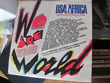 We Are the World Artists for Africa 45 with sleeve