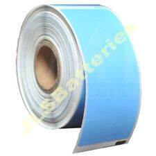 10 Rolls 99012 Dymo Seiko Compatible 260 BLUE Thermal labels per roll 36 x 89mm