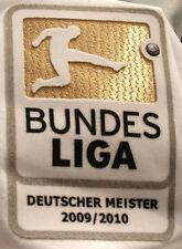 Original Bundesliga Badge Spieler-Patch Deutscher Meister Bayern Trikot 2010-11