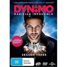 DYNAMO: Magician Impossible-Season 3-Region 4-New Sealed-2 Disc Set-TV Series