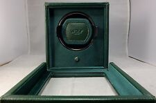 WOLF CUB ROLEX GREEN WATCH WINDER BOX W/ COVER 461141 2 YEAR FACTORY WARRANTY