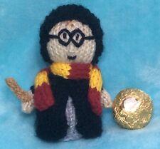 MODELLO per LAVORO A MAGLIA Harry Potter ispirato choc copertura confetti per