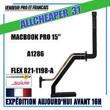 """Nappe connecteur Disque dur SATA MACBOOK 15"""" A1286 HFlex connecteur 821-1198-A"""