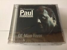 PAUL ROBESON Ol' Man River CD 22 Track NEW Sealed  Planet 2000